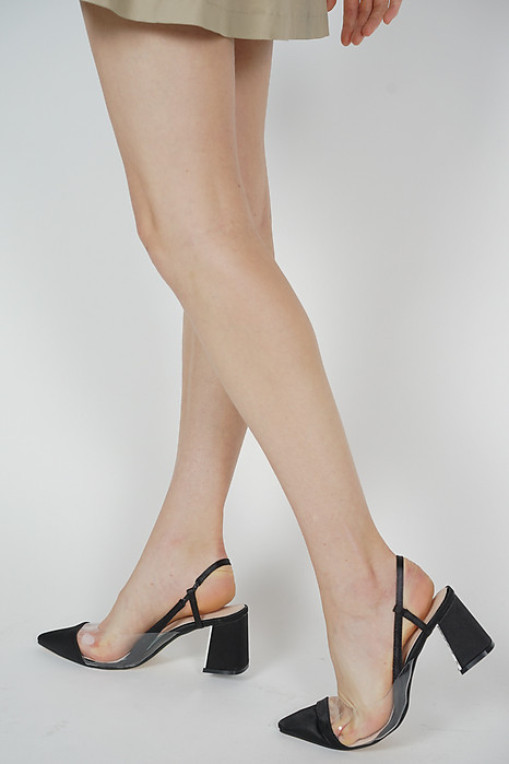 Alexa Slingbacks in Black- Arriving Soon
