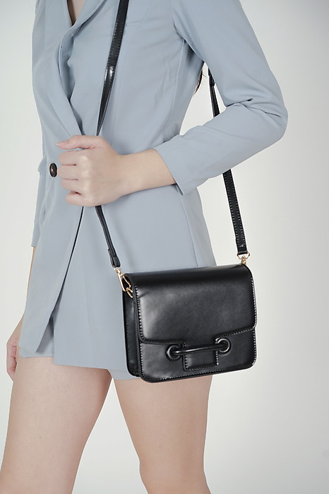 Ashery Squared Bag in Black - Arriving Soon