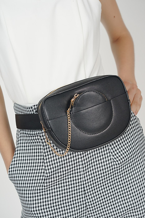Compact Waist Pouch in Black - Arriving Soon