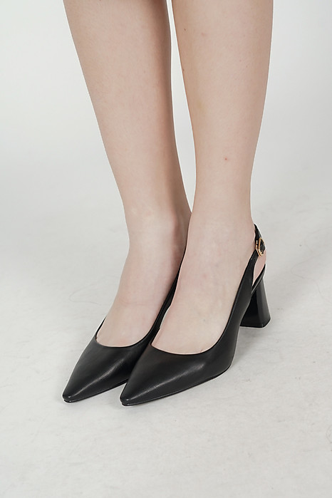 Aurora Pumps in Black - Arriving Soon