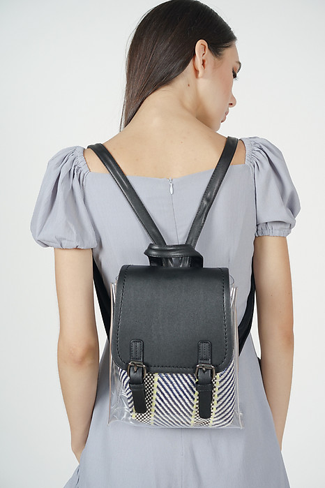 Clear Satchel Backpack in Black - Arriving Soon