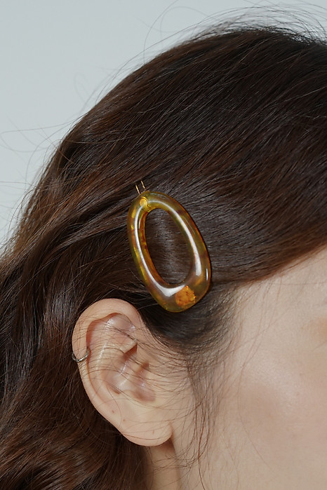 Charla Hair Piece in Tortoiseshell - Arriving Soon