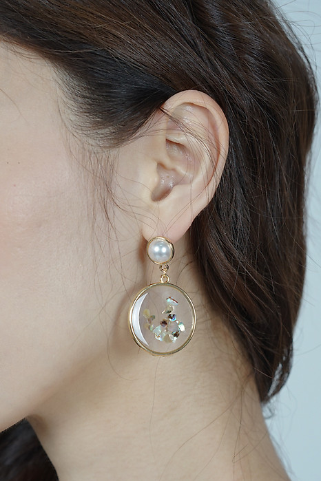 Ventana Earrings in Metallic Confetti - Arriving Soon