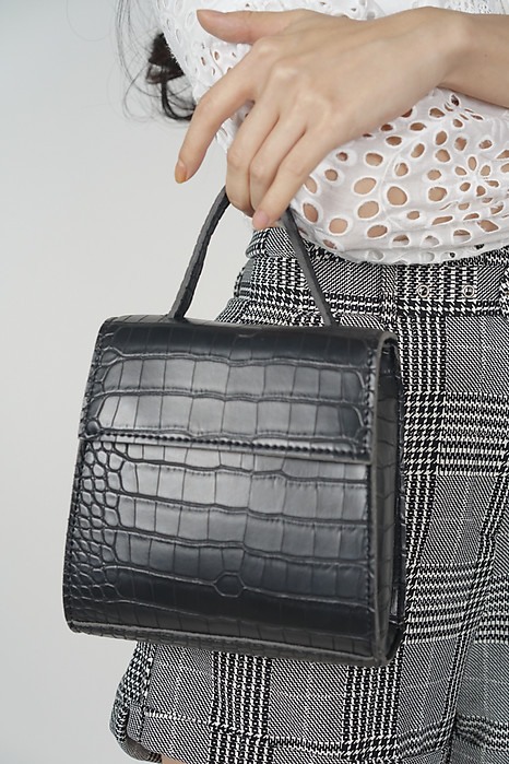 Rock This Croc Bag In Black - Arriving Soon