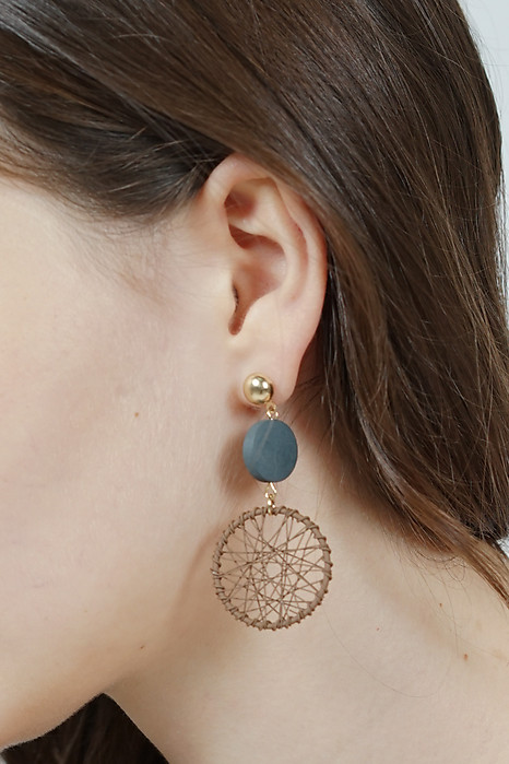 Dreamweaver Earrings in Taupe -  Arriving Soon
