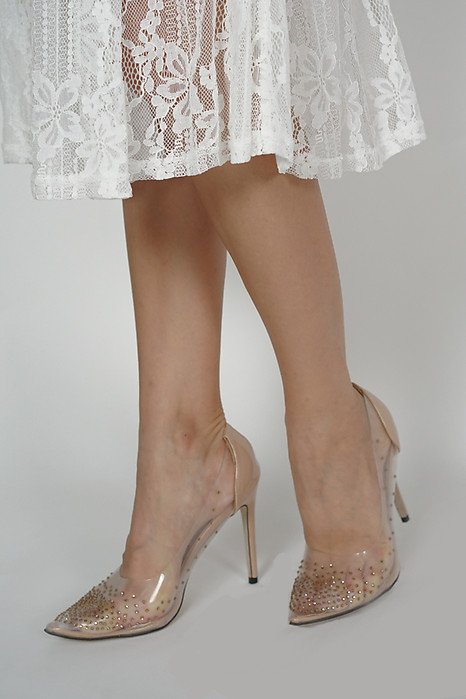Zula Heels in Nude - Arriving Soon
