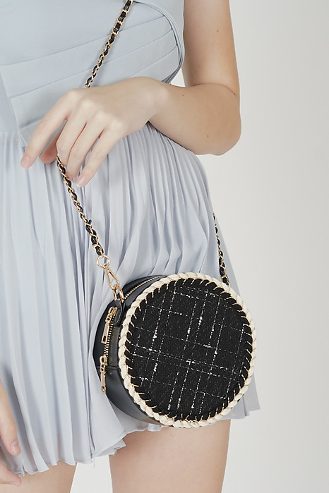 Bianca Round Bag in Black - Arriving Soon