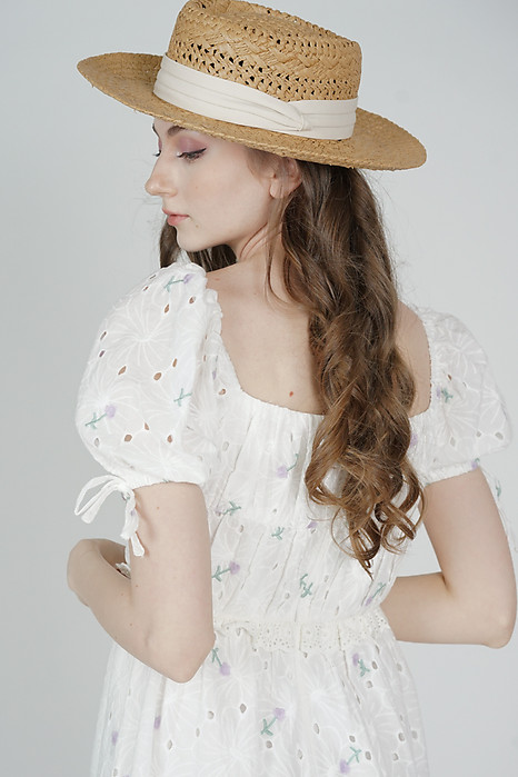 Paulisa Straw Hat in Brown - Arriving Soon
