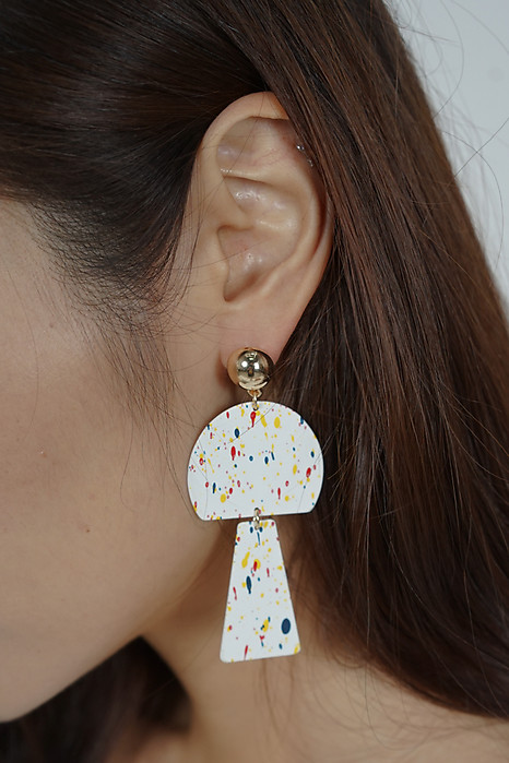 Confetti Rainbow Earrings - Arriving Soon