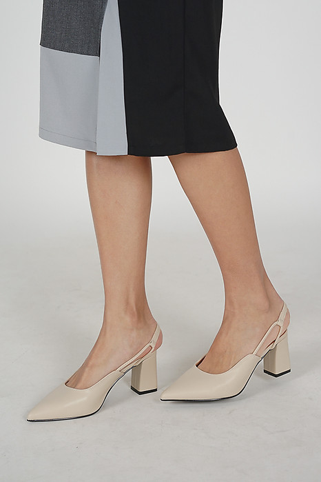 Xeenia Pumps in Cream - Arriving Soon