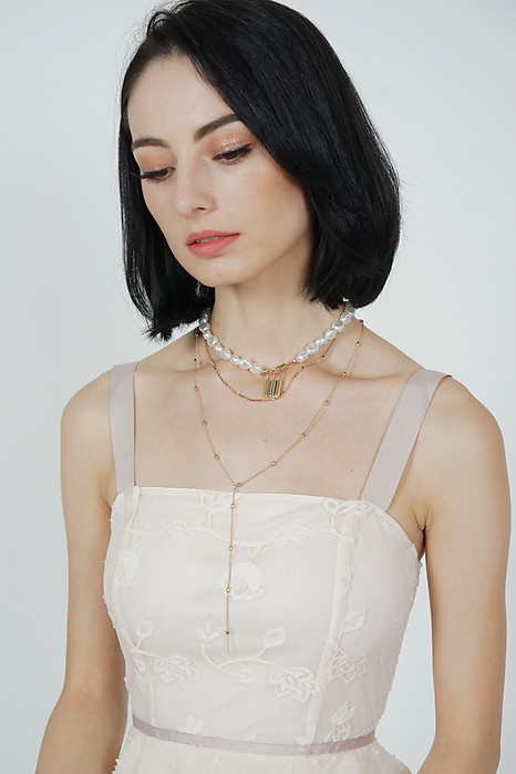 Maiko Layered Pearl Necklace - Arriving Soon