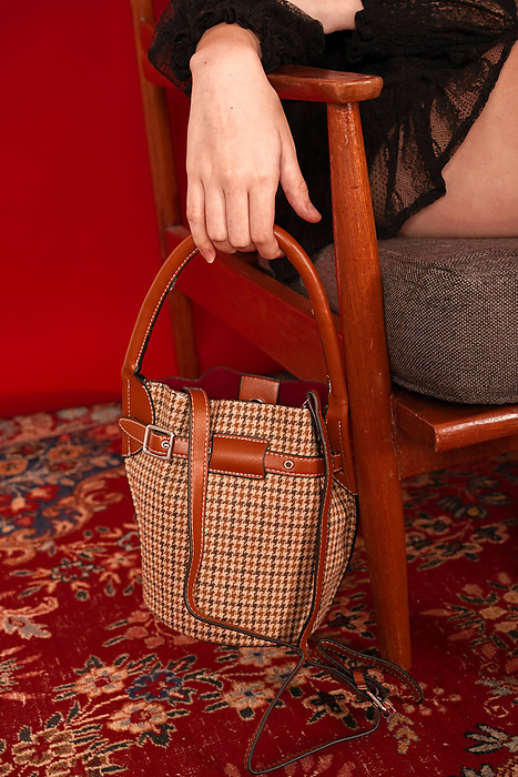 Baila Bucket Bag in Brown - Arriving Soon