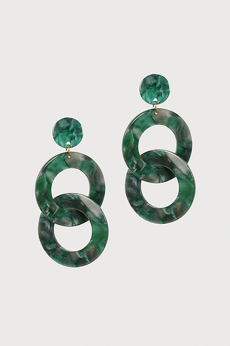 Vintage Drop Earrings in Jade - Arriving Soon