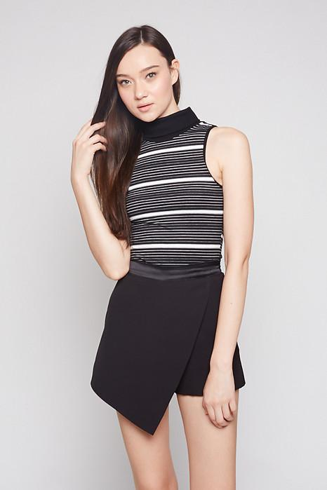 Jelina Top in Thick Stripes