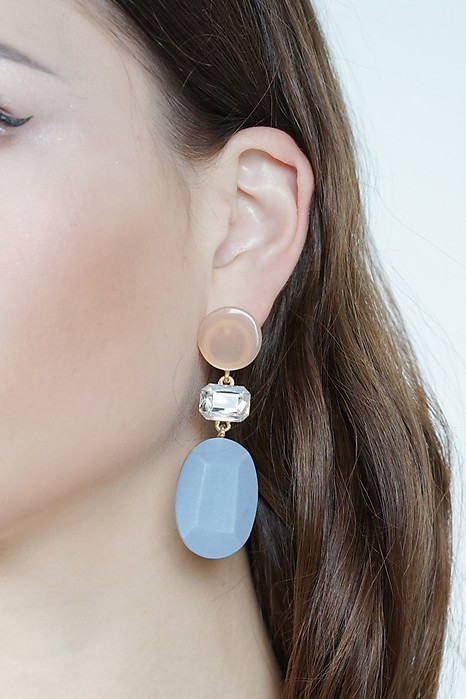 Gemina Earrings in Azure  - Arriving Soon