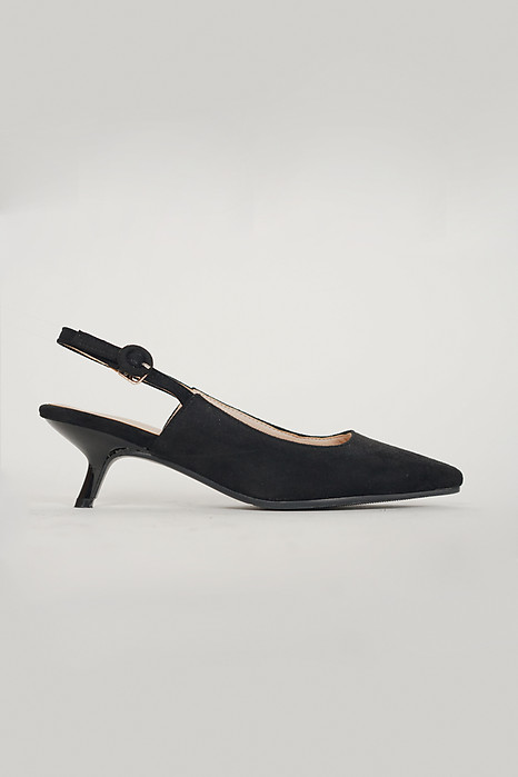 Classic Slingbacks in Black - Arriving Soon