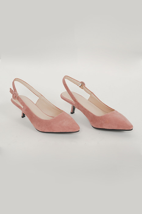 Classic Slingbacks in Mauve - Arriving Soon