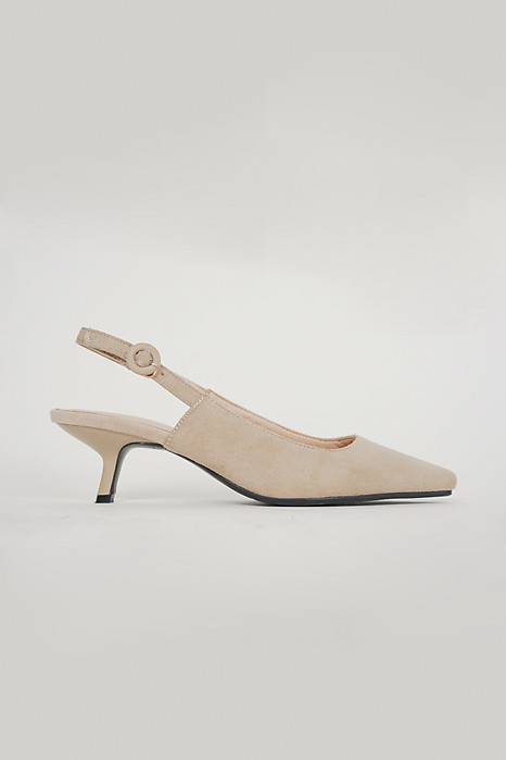 Classic Slingbacks in Beige - Arriving Soon