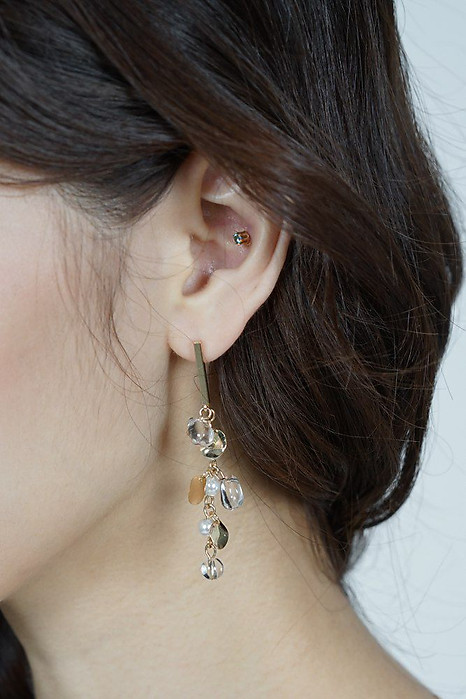 Faye Raindrop Earrings - Arriving Soon
