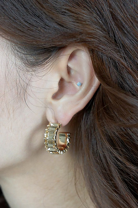 Andri Earrings in Gold - Arriving Soon