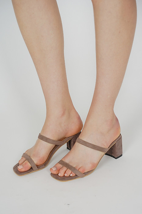 Sulli Heels in Mocha - Arriving Soon