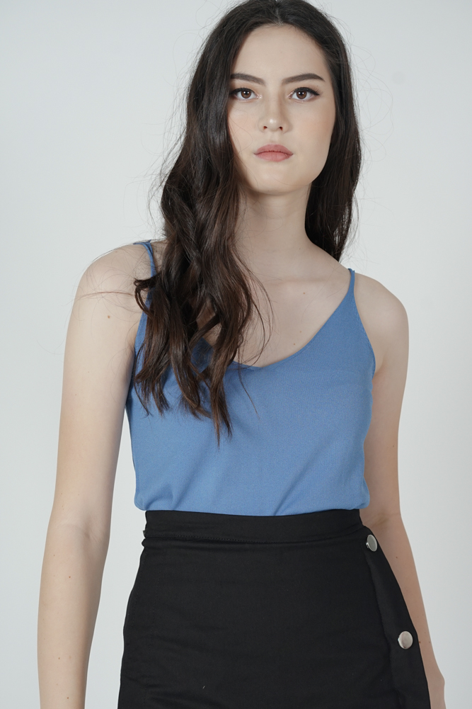 Madina Cami Top in Light Blue - Online Exclusive