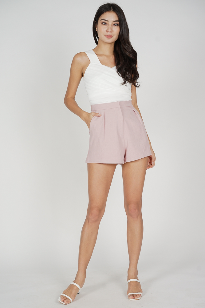 Areina Shorts in Pink - Arriving Soon