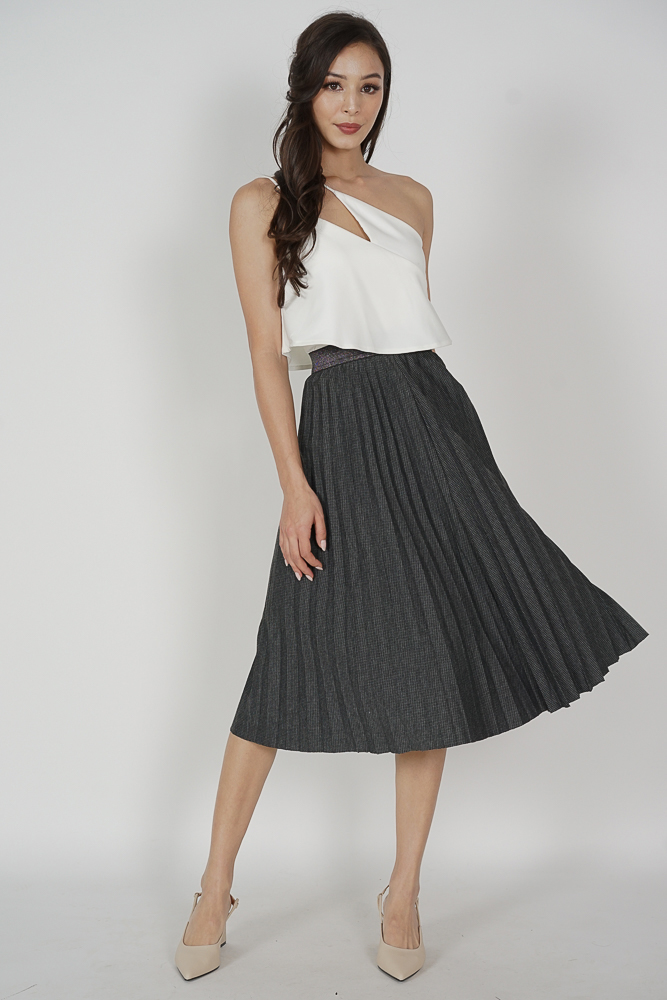 Shireen Midi Skirt in Black - Online Exclusive