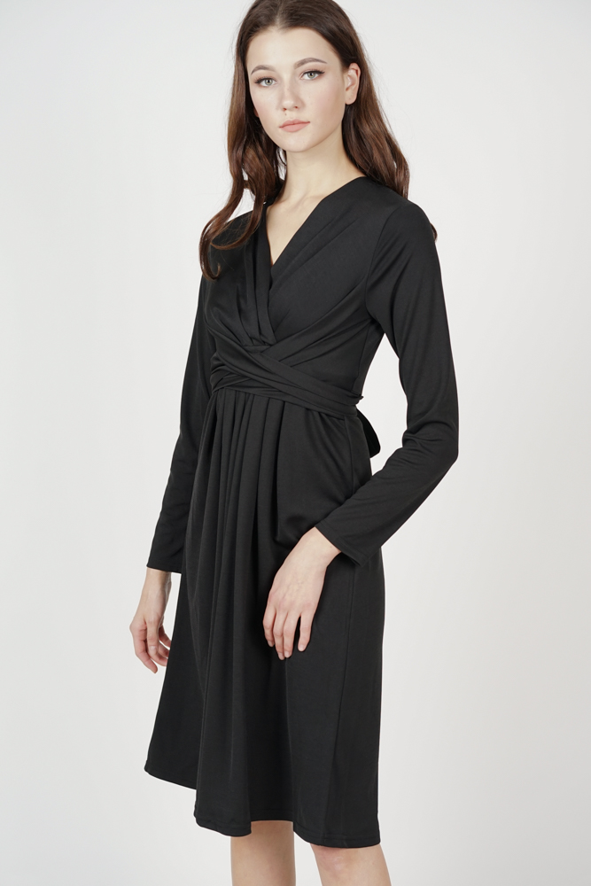 Mayser Midi Dress in Black - Online Exclusive