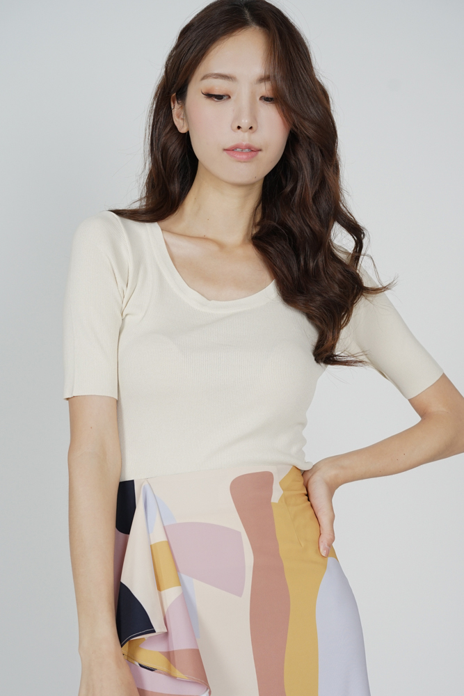 Micki Top in Cream - Online Exclusive