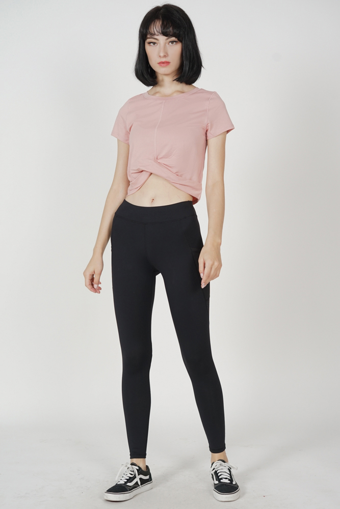 Cristel Knotted Top in Pink - Arriving Soon