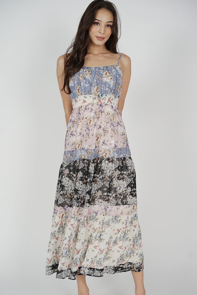 Bryson Maxi Dress in Multi
