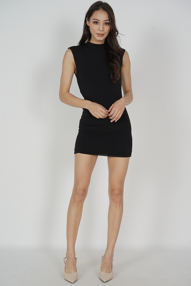 Jairyn Dress in Black - Online Exclusive