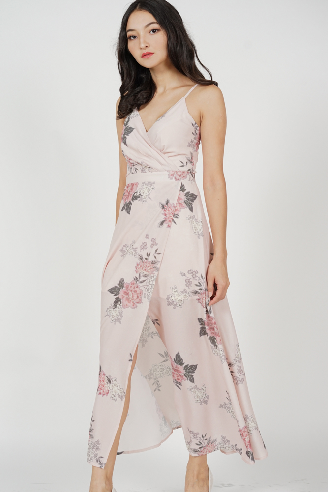 Madelyn Dress in Blush Floral - Arriving Soon
