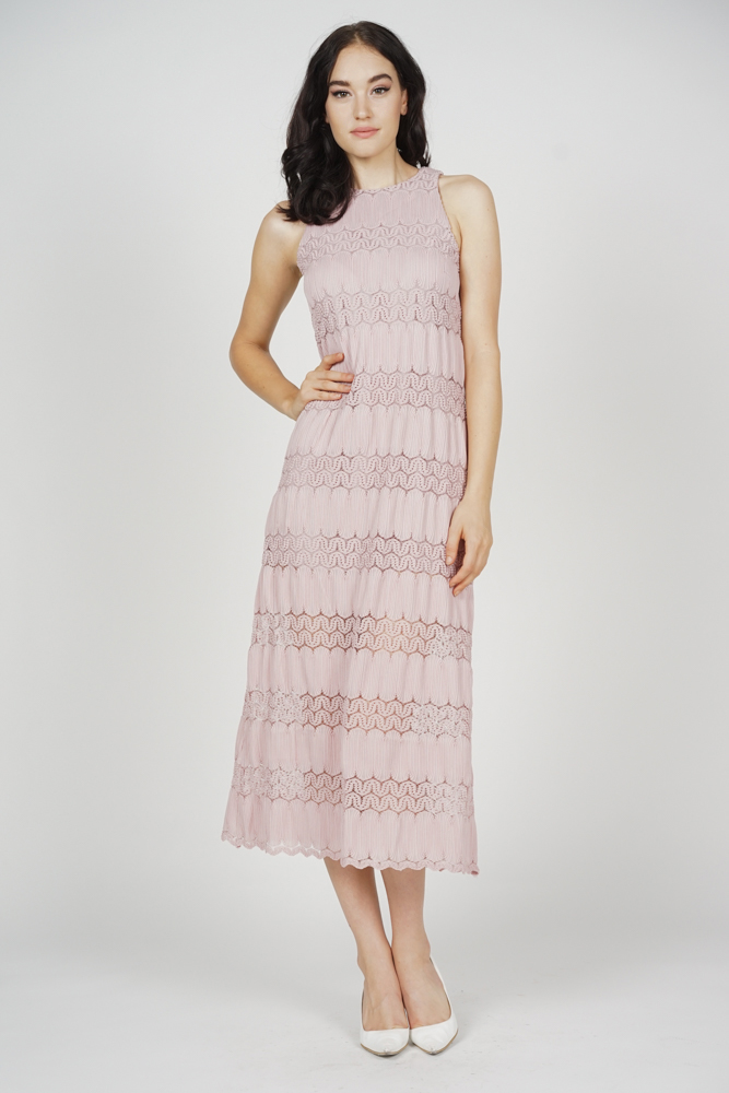 Kylen Straight Dress in Blush - Arriving Soon