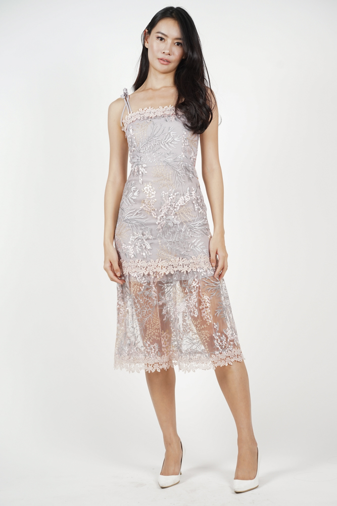 Nerida Lace Dress in Pink - Arriving Soon