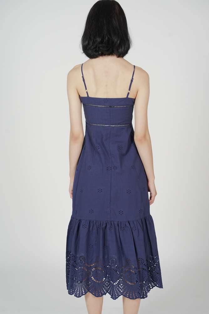 Denia Cami Dress in Midnight - Online Exclusive