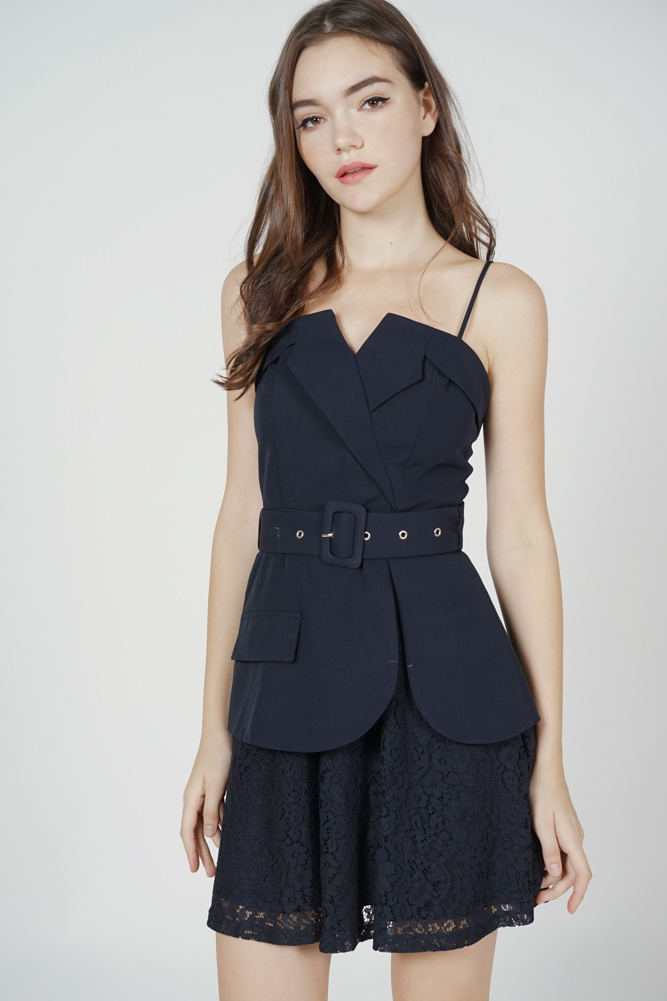 Kayson Buckled Dress in Midnight