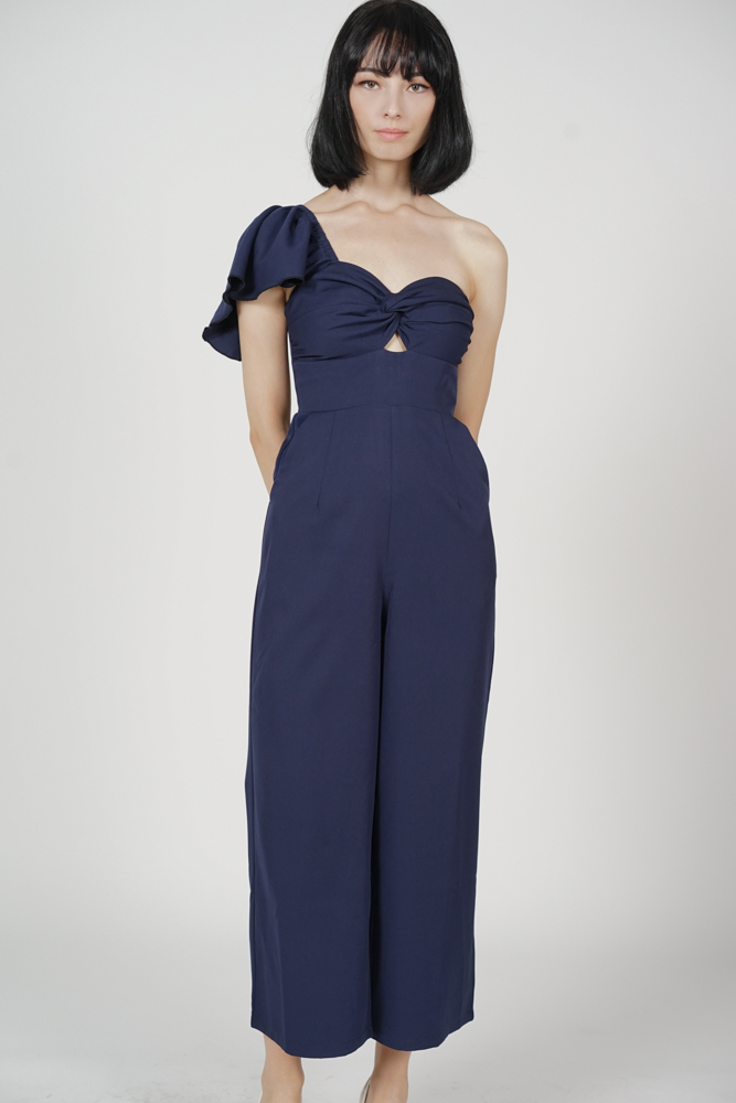 Junko Toga Jumpsuit in Navy