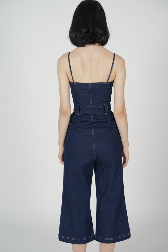 Klausie Zipper Jumpsuit in Blue - Arriving Soon
