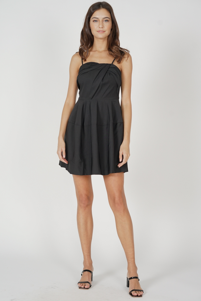 Varsha Cami Dress in Black - Arriving Soon