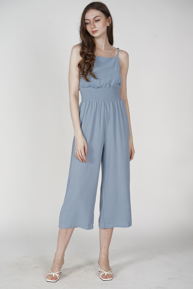 Yolanda Jumpsuit in Blue - Online Exclusive