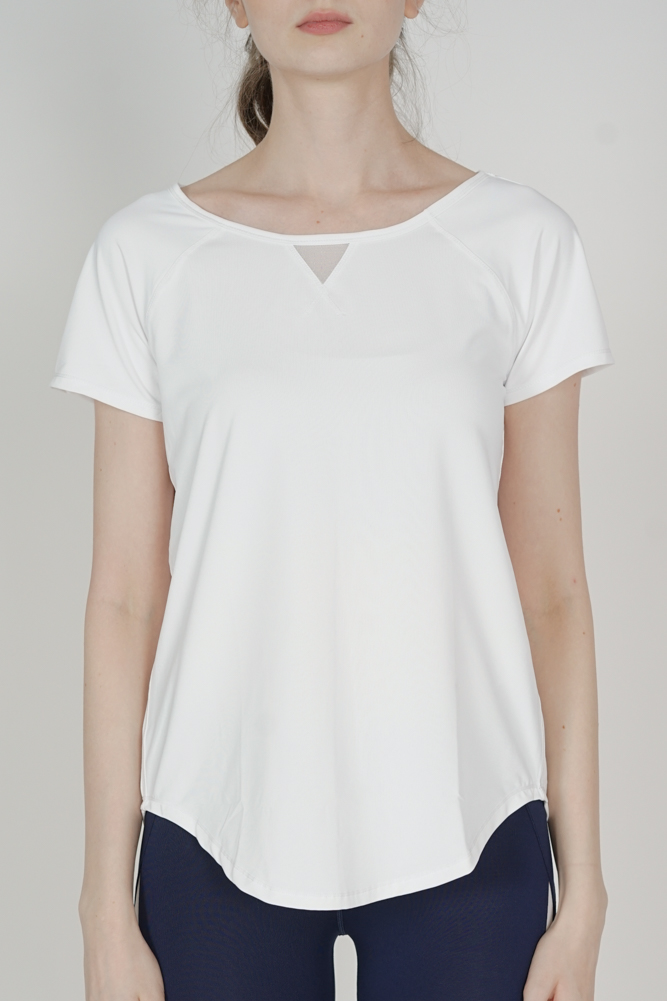Candyce Top in White - Arriving Soon