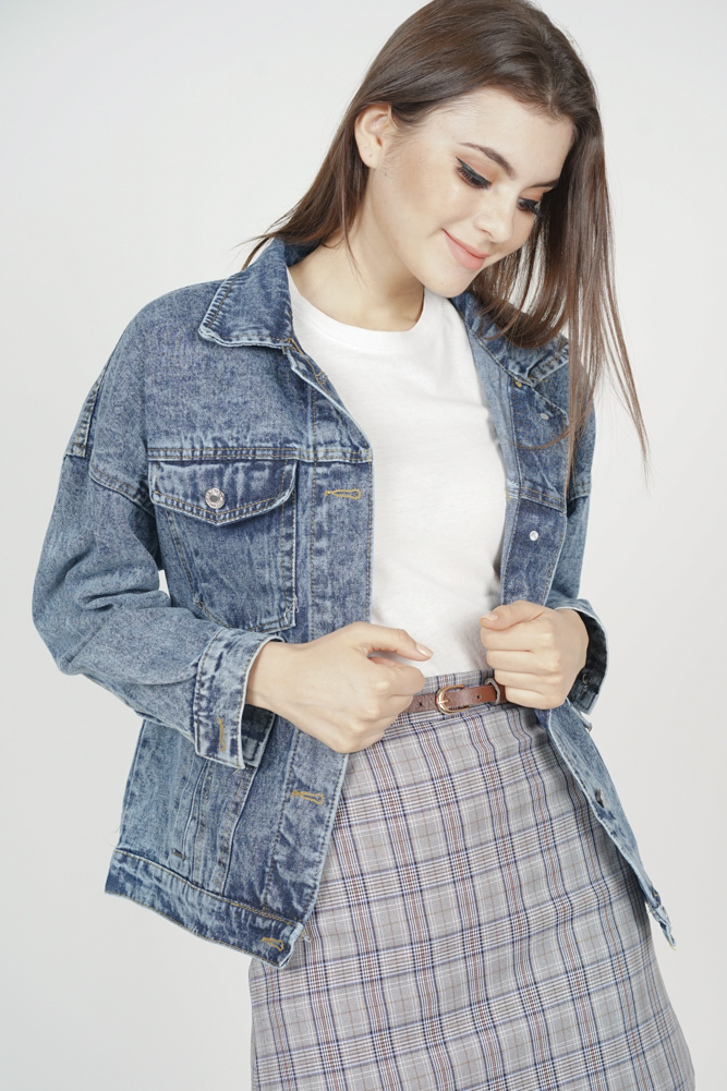 Stephen Denim Jacket in Blue - Online Exclusive