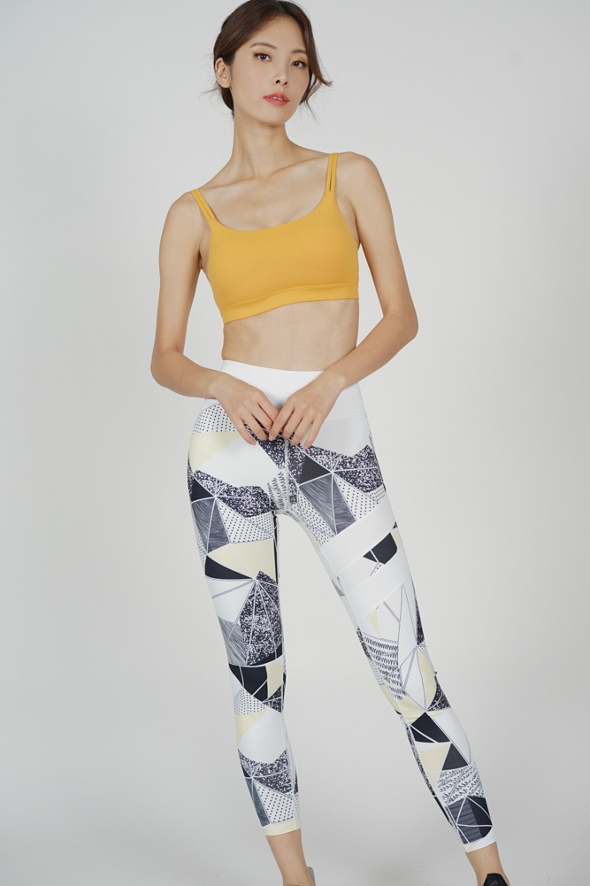 Moria Yoga Pants in Geometric Abstract - Arriving Soon