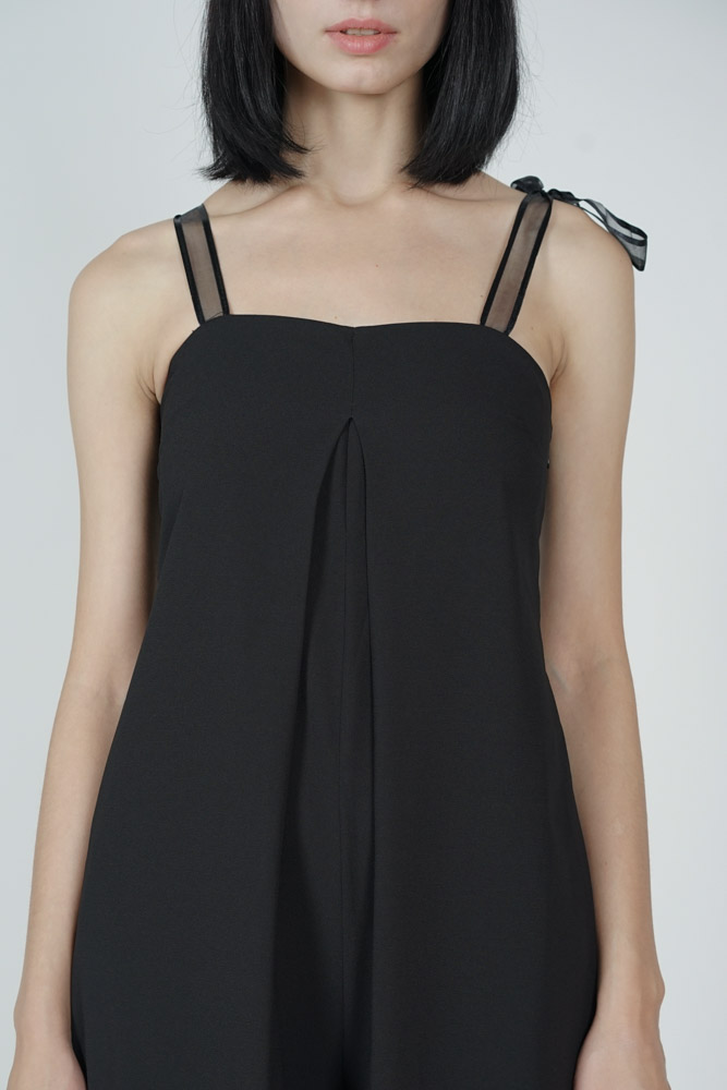 Shoyna Trapeze Jumpsuit in Black - Arriving Soon