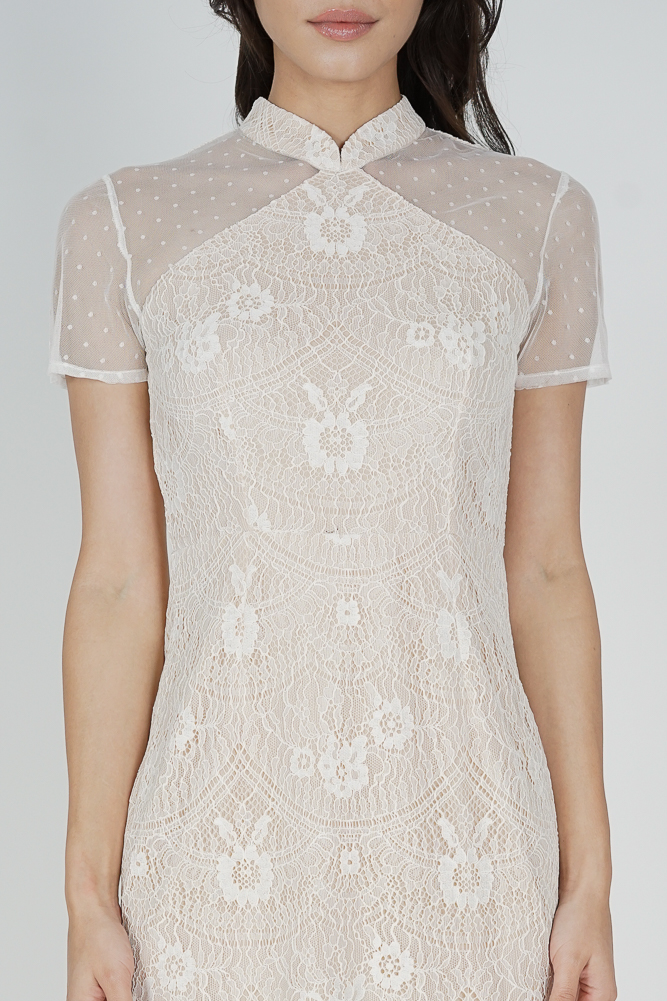 Eishie Lace Dress in White - Arriving Soon