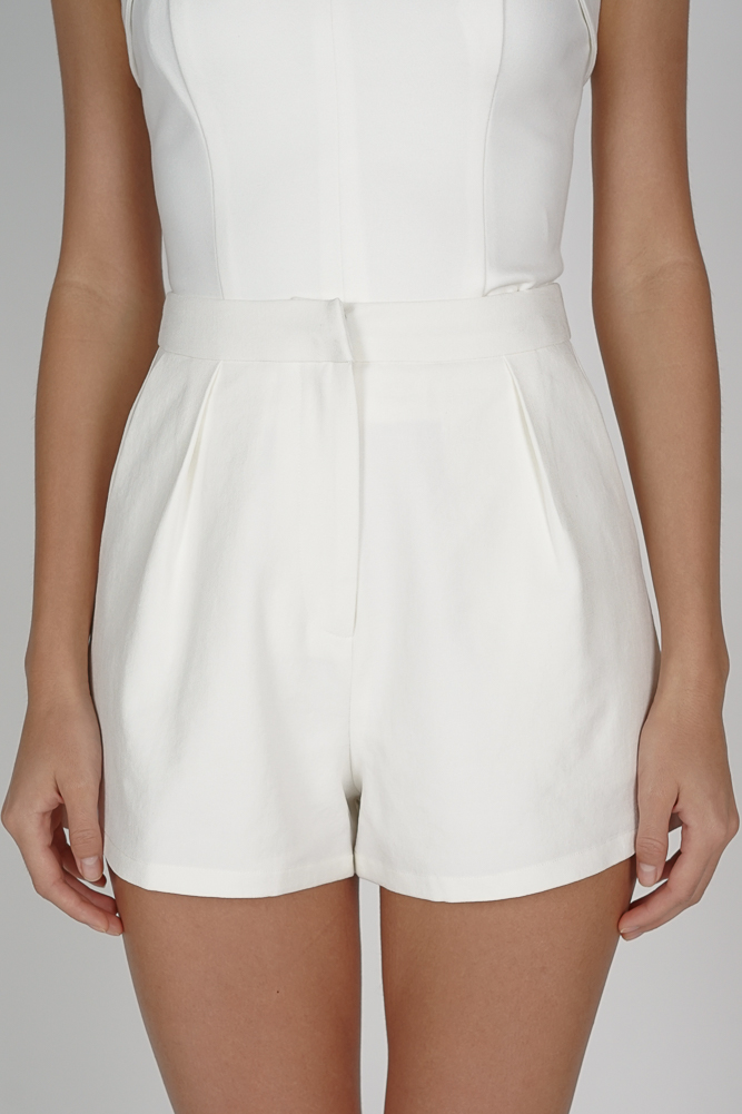 Areina Shorts in White - Arriving Soon