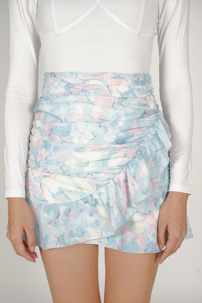 Beha Ruffled Skirt in Multi Pastel - Arriving Soon