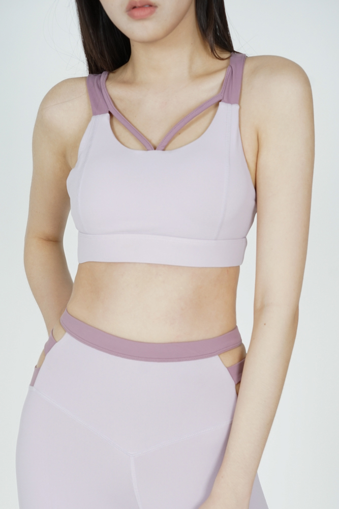 Garin Strappy Padded Top in Pink - Arriving Soon